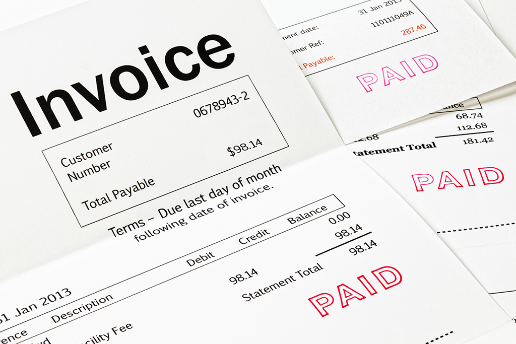 Invoice management solution for eReplacement